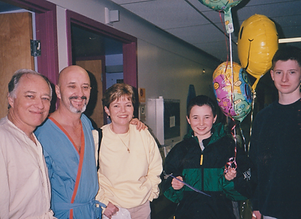 Doug with Keith, Maggie, Craig and Scott