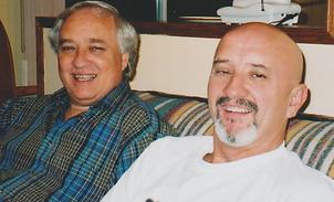 KOTM Doug with his brother Keith, who do