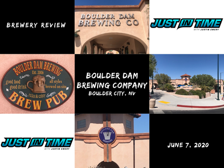 Brewery Review: Boulder Dam Brewing Company