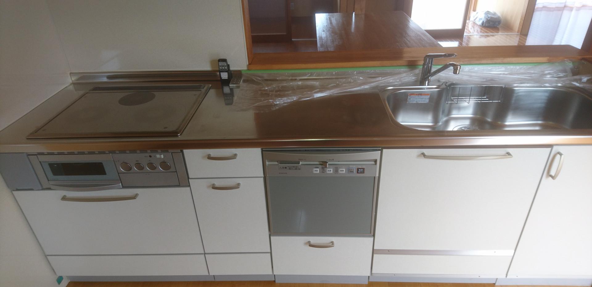 IH食洗器システムキッチン