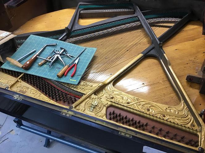 Joseph Taylor Pianos Piano Restoration