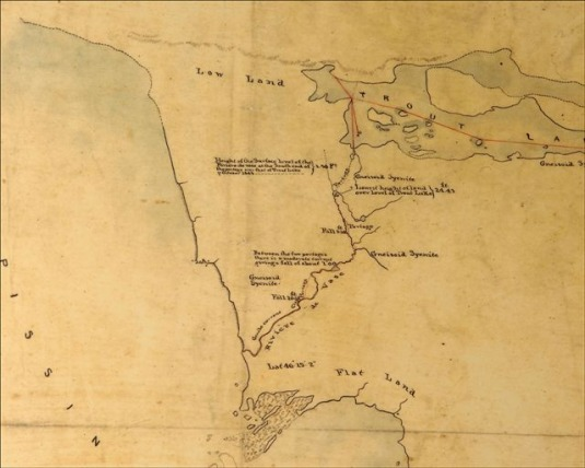 William Logan Map 1845