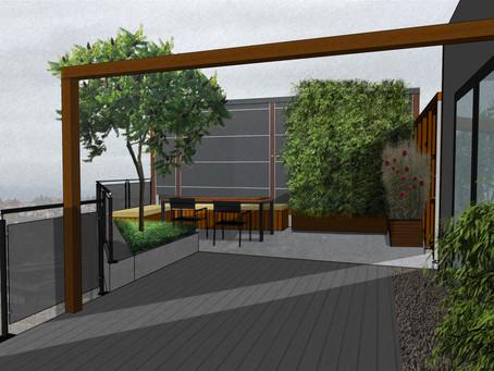 Skap hyggelige rom på terrassen