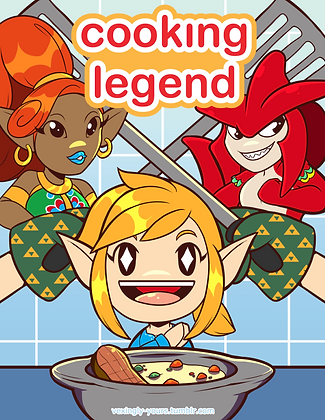 Cooking Legend Poster