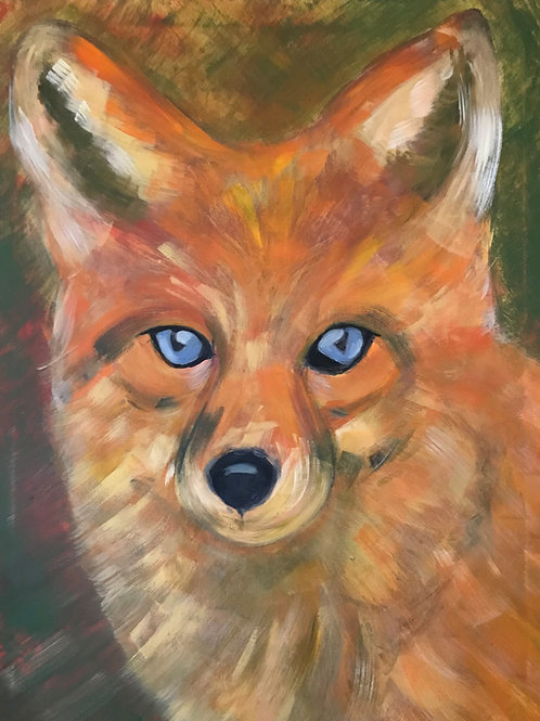 Print - Fox