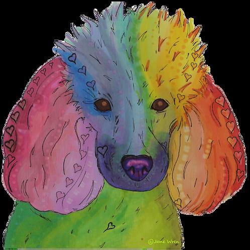 Digital File - Pop Goes the Poodle