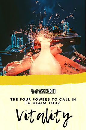 4 Powers to call in to claim your vitali