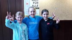 Romy, Charlotte und Sophia