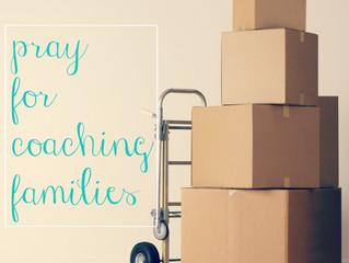 Pray for Coaching Families