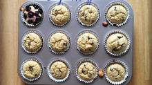 CLEAN banana chocolate chip muffins
