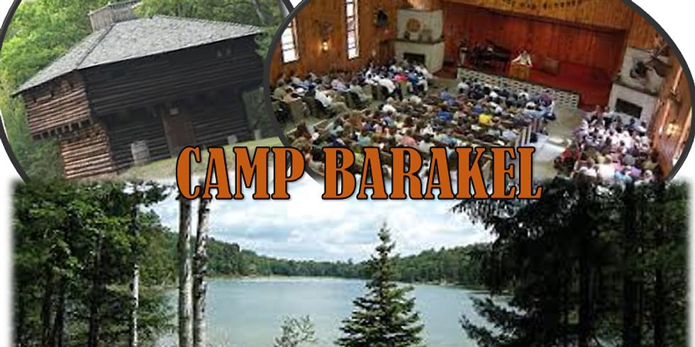Men's Camp Barakel Weekend