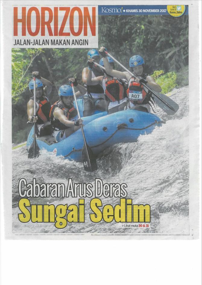 Cabaran Arus Deras Sungai Sedim- Kosmo!- 30/11/2017