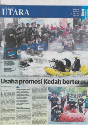 Usaha Promosi Kedah Berterusan- Utusan Malaysia