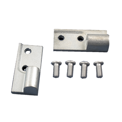 339002 - ORIGINAL KIT,HINGE BLOCK (TOP & BOT) ALUM