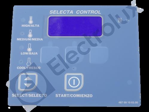 091003 - ORIGINAL KEYPAD,TD SELECTA II-COIN BLUE