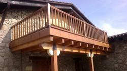 Baranda balcón