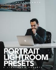 COVER TEXT PORTRAIT LIGHTROOM PRESETS.jp
