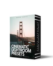 COVER CINEMATIC LOOK LIGHTROOM PRESETS B