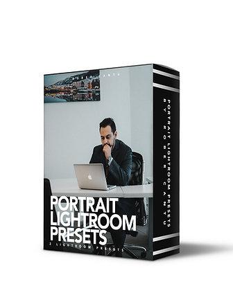 PORTRAIT PRESETS | 2 Lightroom Presets