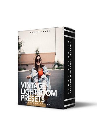 VINTAGE STYLE | 5 Lightroom Presets
