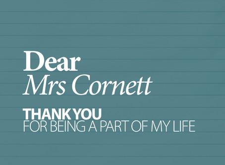 40 LETTERS . 1 MRS CORNETT