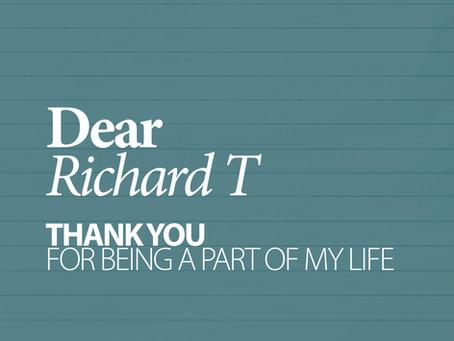 40 LETTERS . 2 Richard T