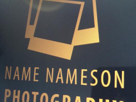 Wedding Photography Branding