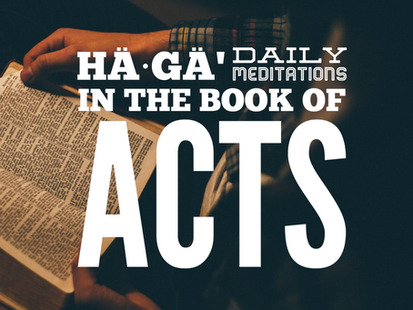 ACTS 1:1-2 // Invited to be friends with God