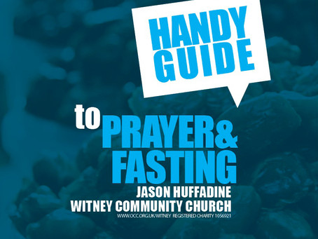HANDY GUIDE TO PRAYER AND FASTING