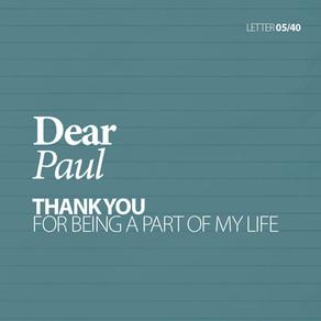 40 Letters . 5 Paul