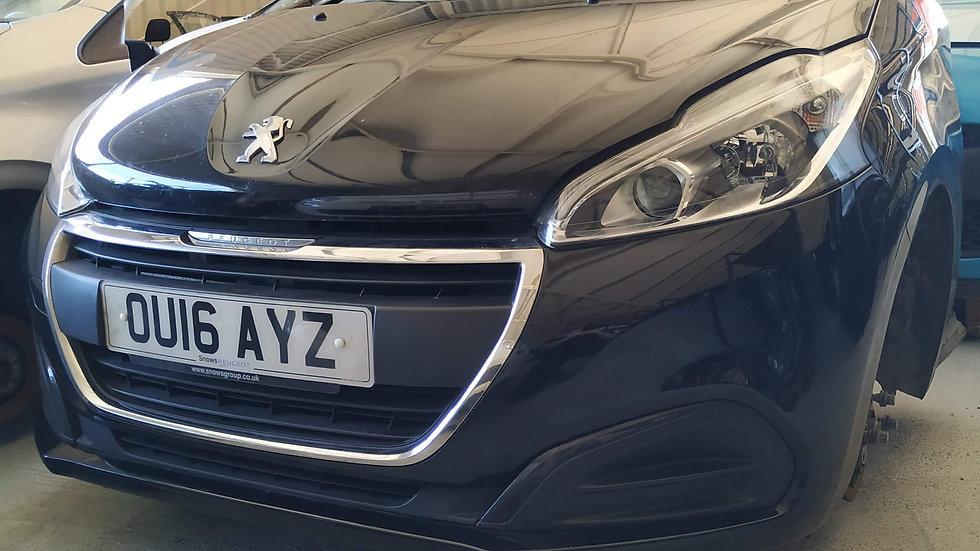 Μοὐρη κομπλἐ Peugeot 208 2016