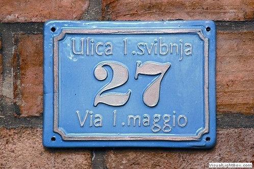 Kućni broj / House number