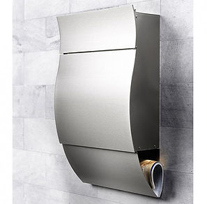 External Secure Postboxes for contemporary composite doors styles