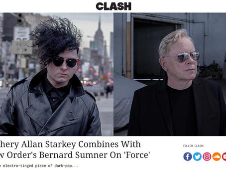 CLASH MAGAZINE - Zachery Allan Starkey Combines With New Order's Bernard Sumner On 'Force'