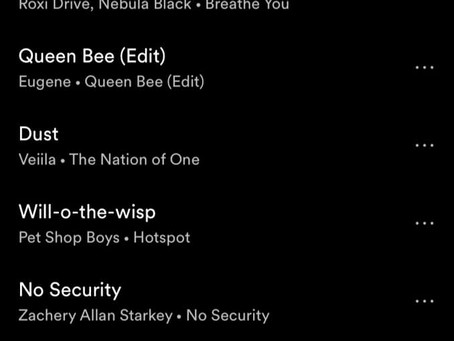 NO SECURITY added to UK's ELECTRICITY CLUB PLAYLIST