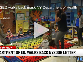 Students still have to mask up in New York schools, Education Dept. walks back NYSDOH comments