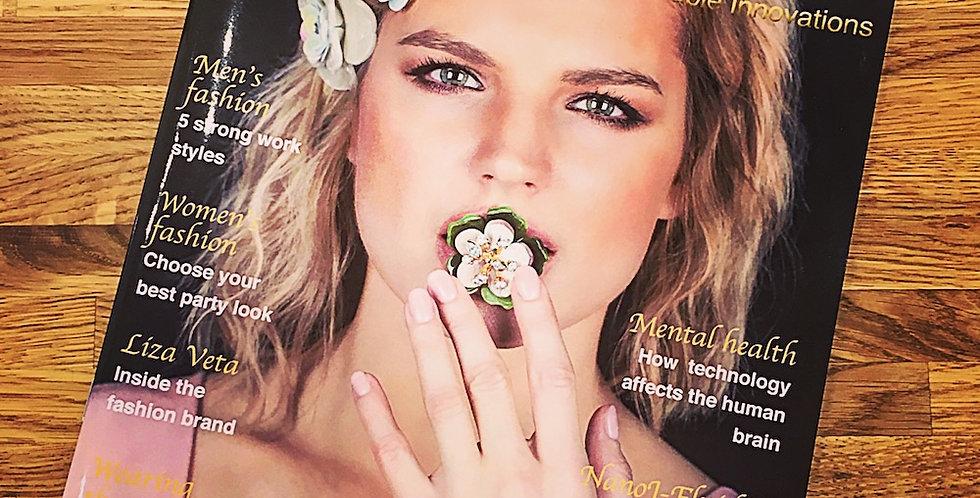 Become Liza Veta Magazine Sponsor