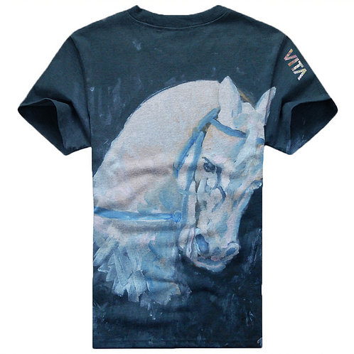 White Horse Art T-Shirt