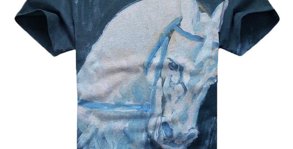 White Horse Art T-Shirt