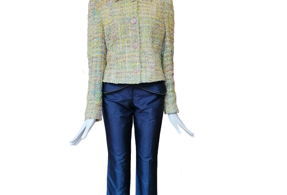 Wool Tweed Multicolour Jacket