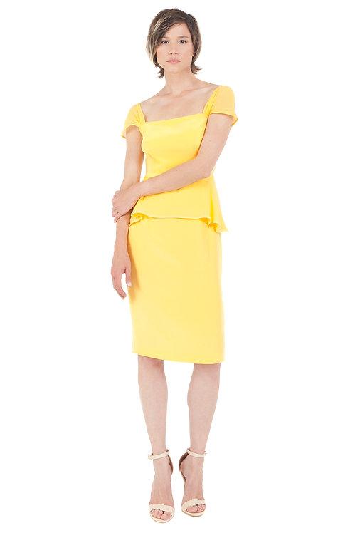 Silk Basque Dress