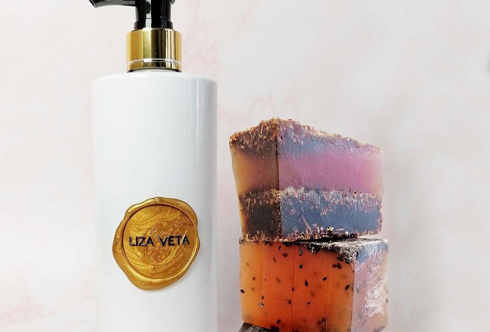 Rosehip Shower Gel & Soaps Set