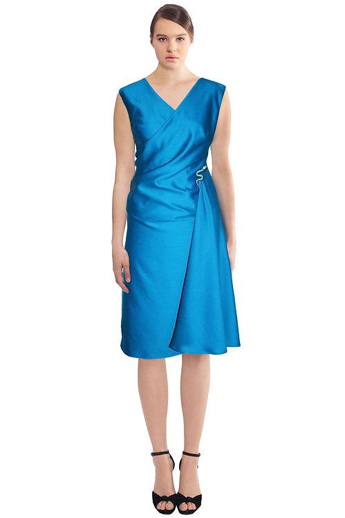Wool Wrap Dress