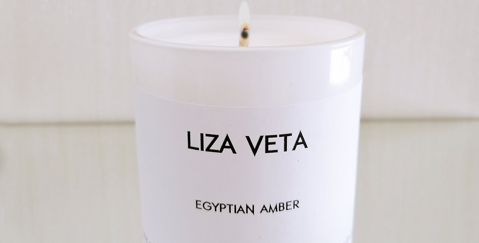 Egyptian Amber Scented Candle Small