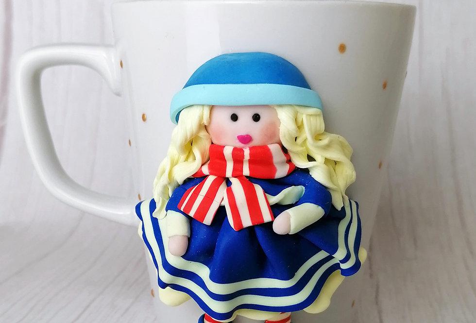 Doll Mug - Navy