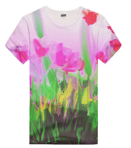 Flower Art T-Shirt