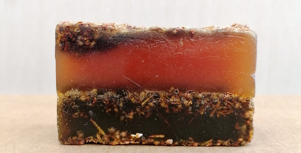 Organic Vegan Soap Bar Exfoliating -  Ylang Ylang
