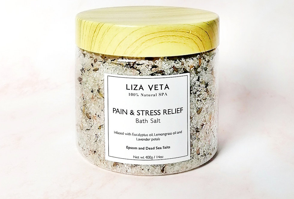 Pain & Stress Relief Bath Salt 400g