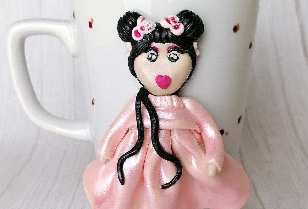 Doll Mug - Peach