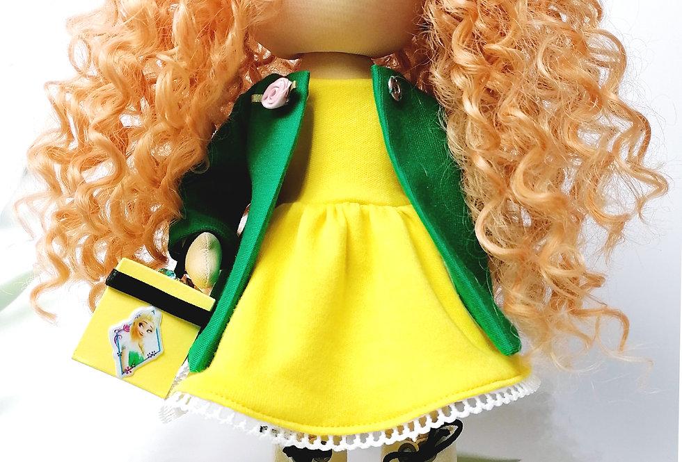 Dolliza in Green Coat